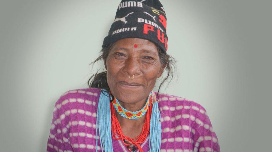 Aiti was a fistula patient in Surkhet, Nepal