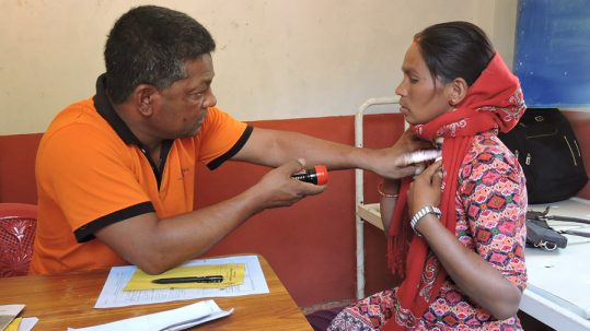 outreach camps for leprosy