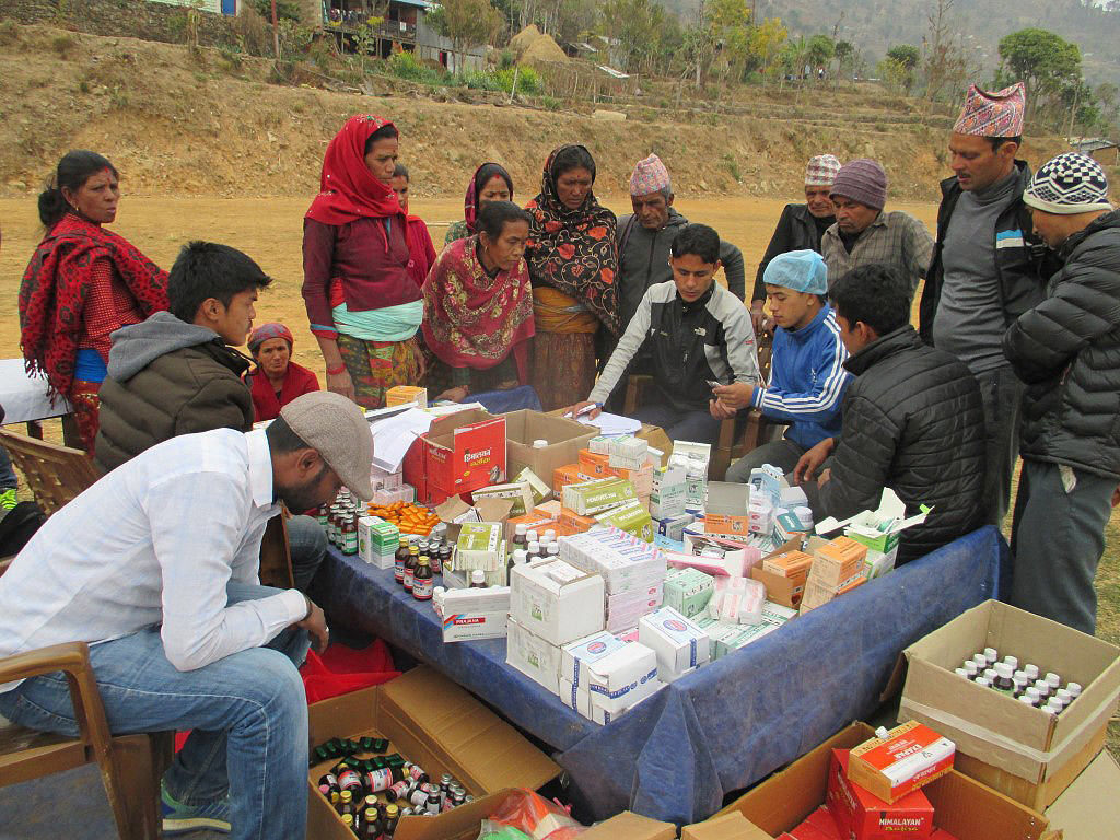 Medicine distribution