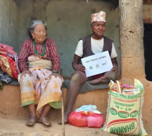 INF Nepal distributed food relief to people with disabilities in Surkhet
